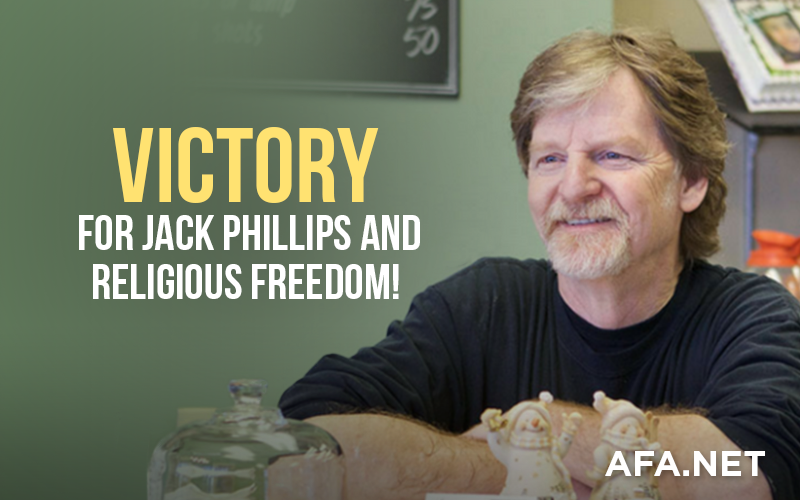 Victory for Jack Phillips and Religious Freedom!