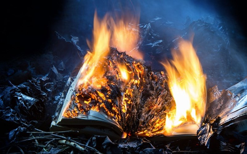 Are They Burning the Bible in China?