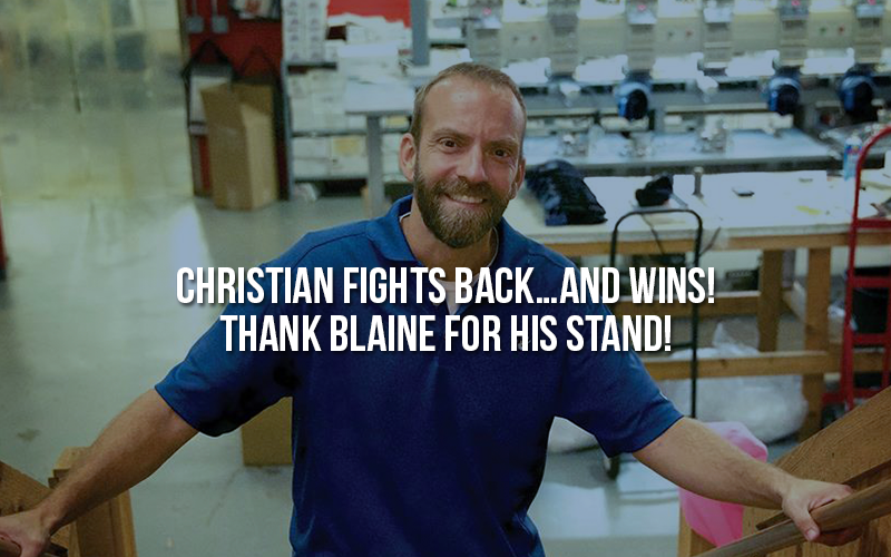 Christian Business Owner Fights Back...and Wins!