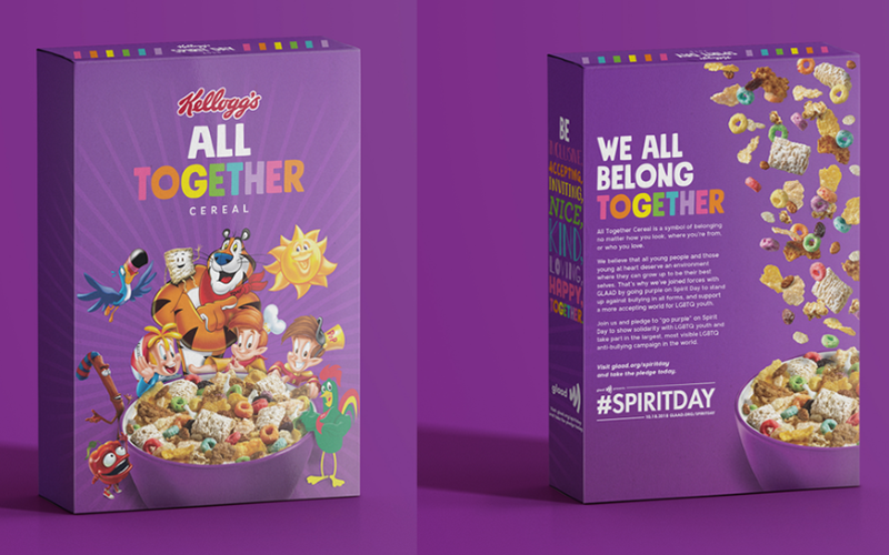Kellogg's Uses Cereal Mascots to Push LGBTQ Agenda