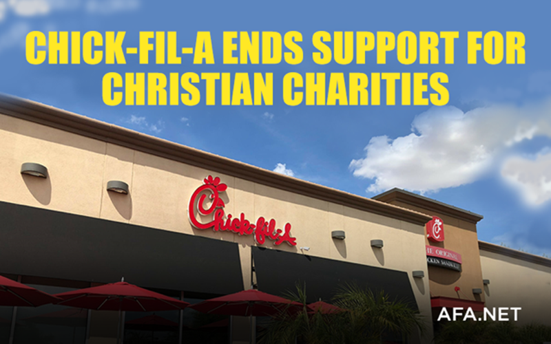 Chick-fil-A ends support for Christian charities